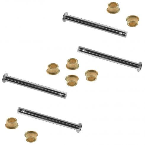 1979-98 Ford Door Hinge Repair Kit SET (Includes 4 Pins & 8 Brass Bushings)