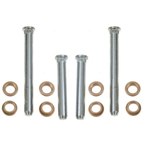 84-97 Dodge Full Size PU, Van Door Hinge Pin & Bushing Kit (4 Pins & 8 Bushings)