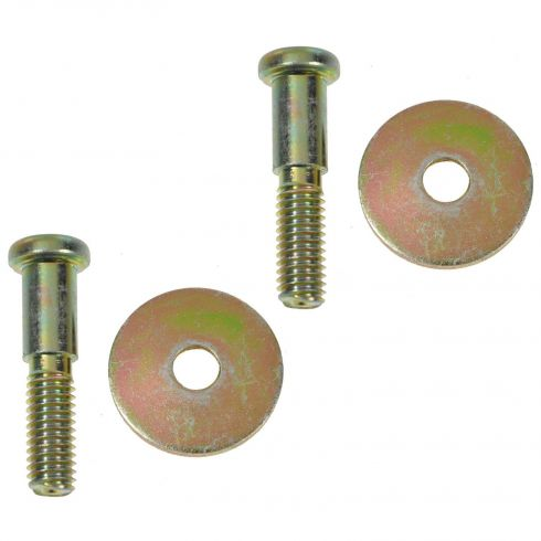 65-02 Buick, Cadillac, Chevy, GMC, Olds, Pontiac Multifit Door Striker Bolt & Washer Kit PAIR