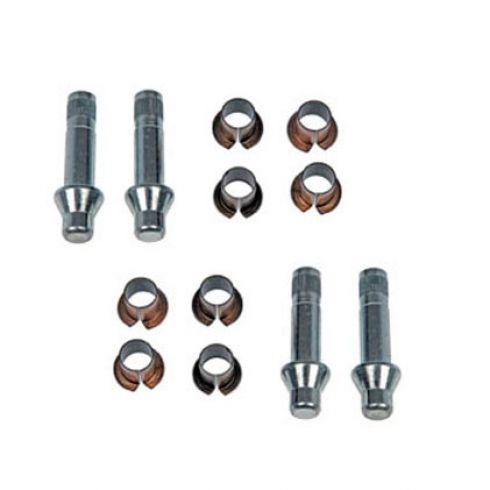 Door Hinge Pin & Bushing Kit (4 Pins & 8 Bushings)