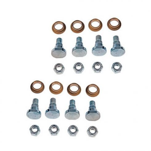 95-01 Lumina, 95-99 Monte Carlo Fr & Rr, Up & Lwr Dr Hnge Rpr Kit (8 Pins, 8 Bushings, 8 Lock Nuts)