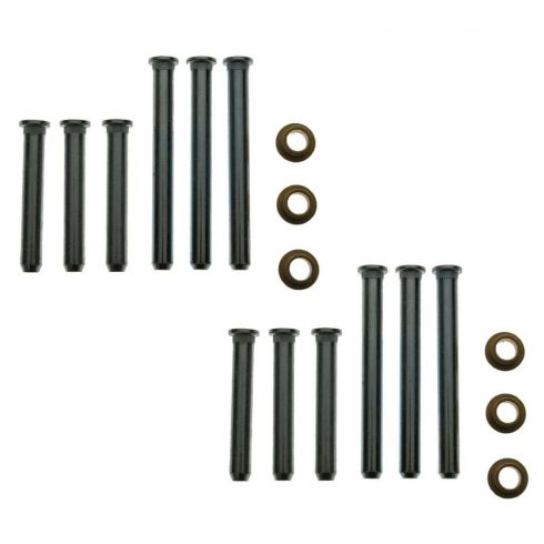Door Hinge Pin & Bushing Kit (12 Pins & 6 Bushings)