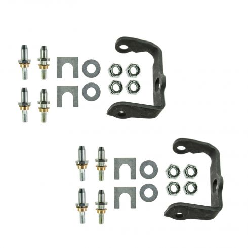02-09 Bravada, Envoy, Rainier, SSR, Trailblazer Rear Door Hinge Pin Repair Kit w/Bracket RH PAIR