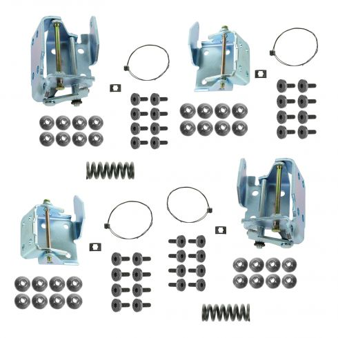 88-02 Chevy C/K PU Upper & Lower Door Hinge Repair Kit LH & RH