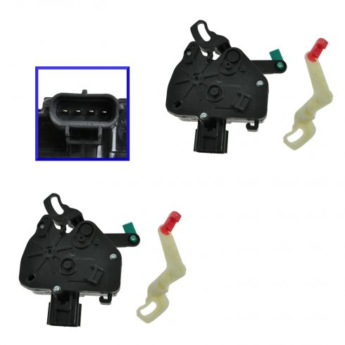 01-07 Dodge, Chrysler Mini Van Side Sliding Door Lock Actuator PAIR