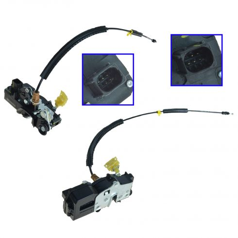 07-08 Avalanche, Suburban, Yukon XL, Tahoe, Yukon Rear Door Lock Actuator w/Latch Assy PAIR (GM)