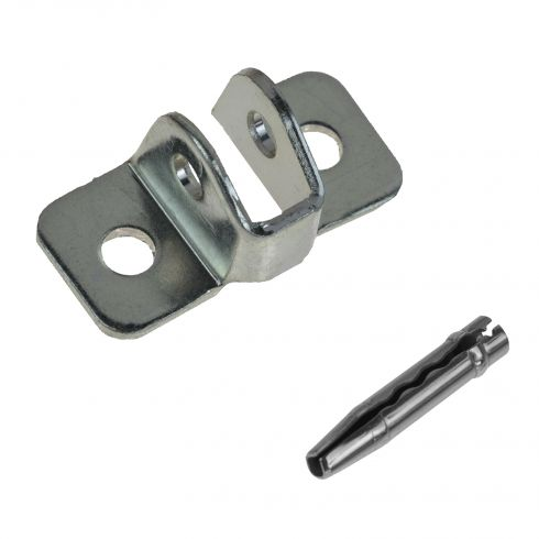 84-01 Jeep Cherokee; 86-92 Comanche Front or Rear Door Check Bracket & Pin Kit (Mopar)