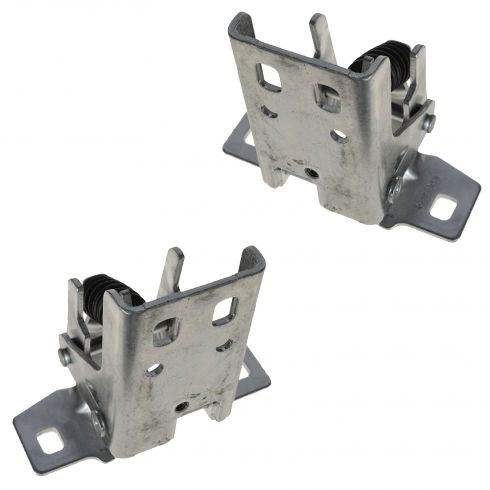 94-01 Dodge Ram 1500; 94-02 Ram 2500, 3500 Complete Front Door Upper Hinge Assembly Pair (Mopar)