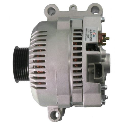 1995-04 Ford Truck Alternator 130 Amp