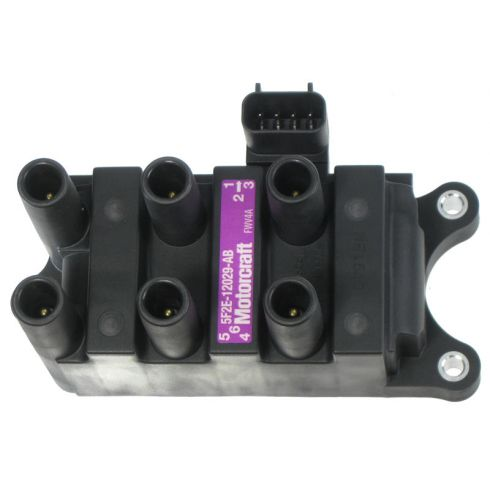 01-08 Ford Mazda Mercury Multifit 2.9L 3.0L 4.2L Ignition Coil Pack (MOTORCRAFT)