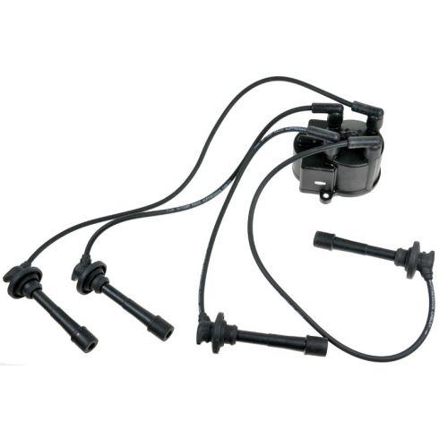 89-92 Geo Prizm 90-93 Celica 88-93 Corolla Dist Cap & Wire SET