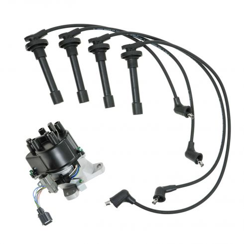 1992-95 Acura Integra Distributor and Wire Set (Except VTEC)
