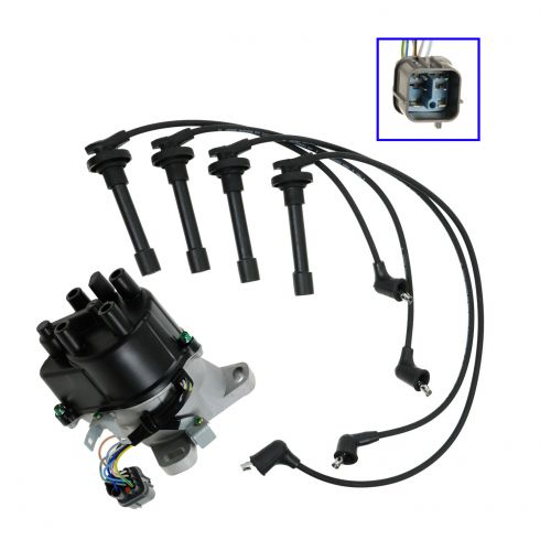 1996-00  Del Sol Integra Distributor and Wire Set