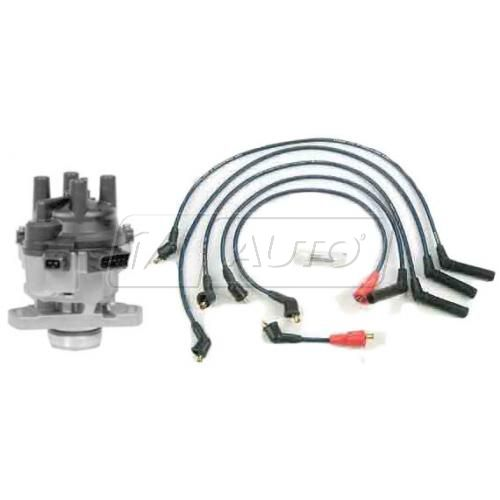 1991 Dodge Colt Distributor and Wire Set with 1.5L