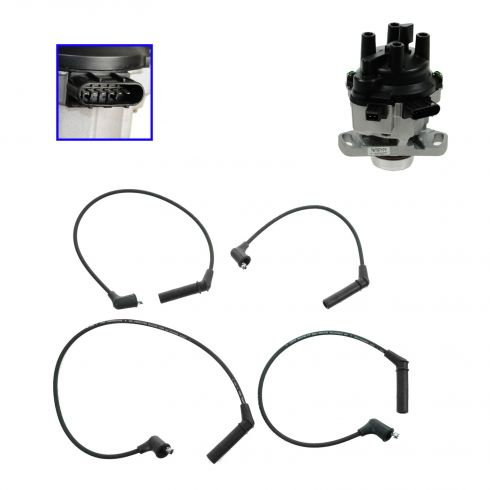 1993-96 Eagle Summit Distributor and Wire Set