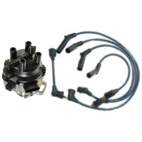 1993-96 Summit Expo Distributor and Wire Set with 2.4L