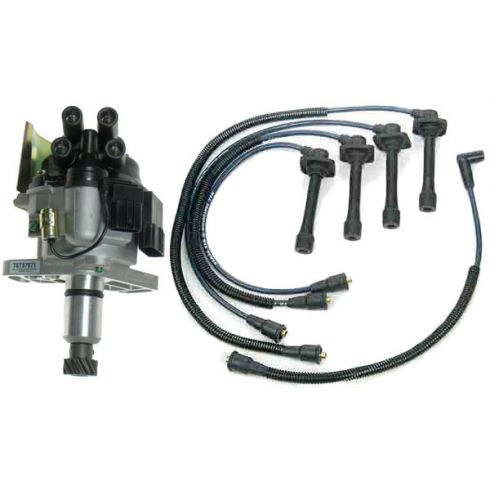 1993 Probe 626 Distributor and Wire Set with 2.0L