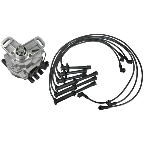 1993-94 Probe 626 MX-6 Distributor and Wire Set with 2.5L