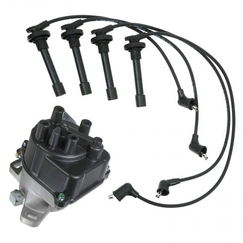 1992-95 Civic Del Sol 1.5 Distributor and Wire Set