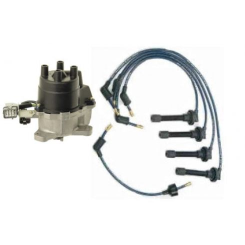 1994-95 Honda Accord Distributor and Wire Set with 2.2L