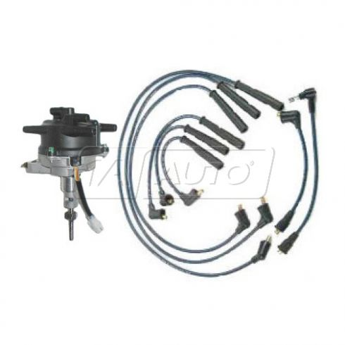 88-91 Toyota truck 3.0 Distributor and Wire Set