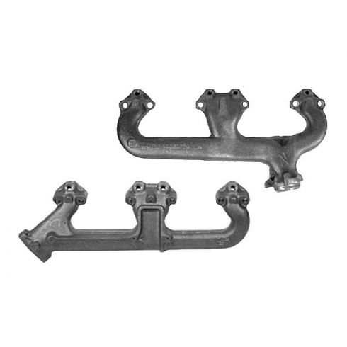 1976-87 GM V8 Small Block Exhaust Manifold Pair
