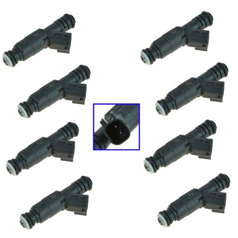 2000-03 Dodge V8 5.2L Fuel Injector (SET of 8)