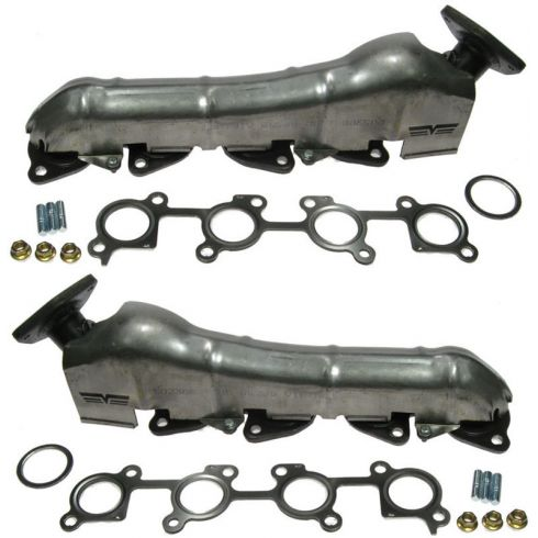 01-04 Toyota Sequoia; 00-04 Tundra 4.7L Exhaust Manifold & Gasket Kit PAIR