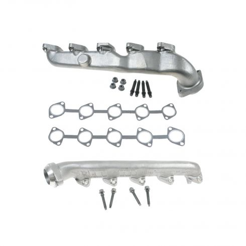 00-11 Ford Excursion, F250-F550; E350 E450 6.8L Exh Manifold & Gasket Kit PAIR