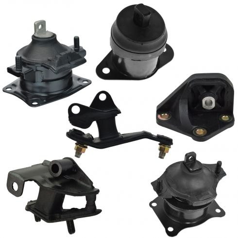 Engine & Transmission Mount Set of 6
