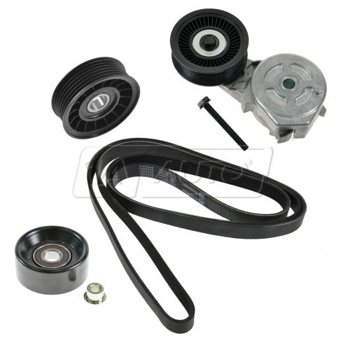 Serpentine Belt, Tensioner & Pully Kit