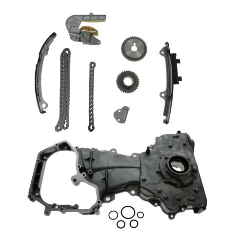 Timing Chain Set With Oil Pump