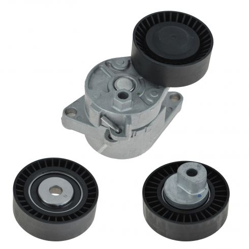 Serpentine Belt Tensioner & Pulley Set