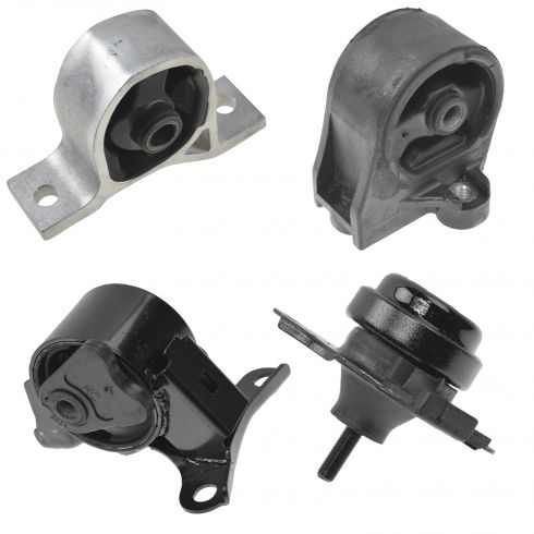 01-05 Honda Civic 1.7L A/T engine & Transmission mount Set of 4
