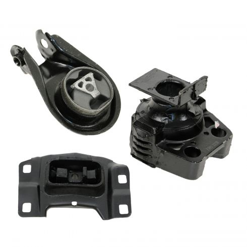 04-09 Mazda 3 w/2.0L; 04-08 3 w/2.3L Engine & Transmission Mount Kit (Set of 3)