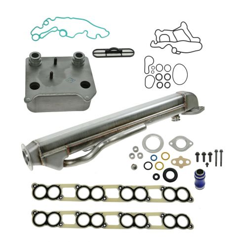 04-10 Ford E350, F250-F550SD 6.0L Diesel EGR & Oil Cooler Kit w/Gaskets NEW