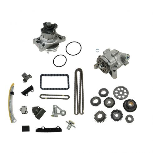 01-04 Tracker; 99-05 Grand Vitara; 02-06 XL-7 Timing Chain & Sprocket Set w/ Oil & Water Pump