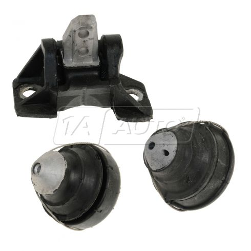 93-95 Volvo 850 Engine Mount KIT (Set of 3)