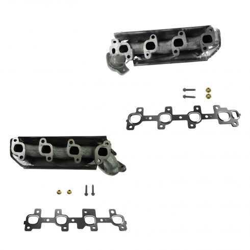 06-07 Jeep Commander; 05-07 Grand Cherokee w/4.7L Exhaust Manifold w/Install Kit PAIR