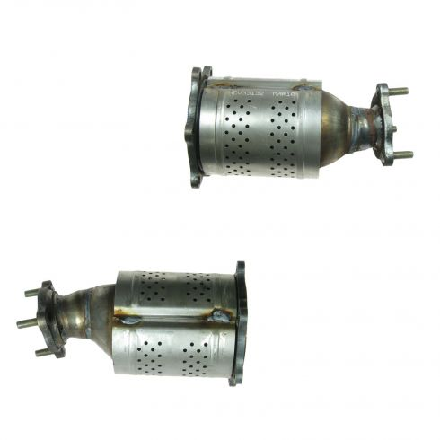 01-04 Nissan Pathfinder; 01-03 Infiniti QX4 3.5L Front Catalytic Converter PAIR