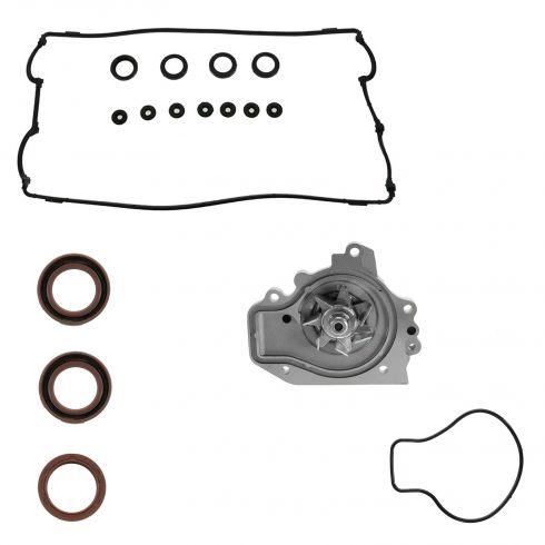 97-01 Honda CRV 2.0L; 96-01 Integra 1.8L LS, SE, RS, GS Wtr Pump, Vlv Cvr Gskt, Cam & Crank Seal Kit