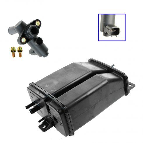02-04 Nissan Frontier, Xterra w/3.3L Fuel Vapor Charcoal Canister & Valve Kit