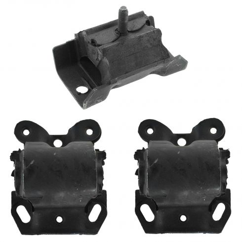 91-95 G10-G30, G1500-G3500 Van w/ 4.3L V6 Engine & Transmission Mount Set of 3
