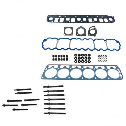 99-01 Jeep Cherokee; 99-03 Grand Cherokee, Wrangler w/4.0L Graphite Head Gasket & Bolt Set