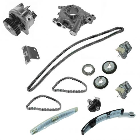 04-05 Nissan Altima; 04-08 Maxima; 04-07 Quest Timing Chain Kit, Oil Pump, & Water Pump Kit