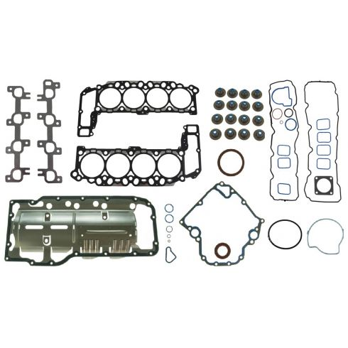 00-03 Dakota, Durango; 02-03 Ram 1500; 99-03 Grd Cherokee Head Gskt & Lower Conv Gskt Set (Fel Pro)