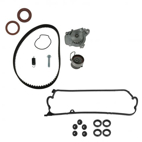 01-05 Acura EL, Honda Civic L4 1.7L Timing Water Pump, Seals, & Valve Cover Gasket Set