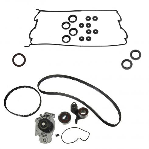 93-01 Honda Prelude L4 2.2L DOHC VTEC Timing Belt, Water Pump, & Seal Kit