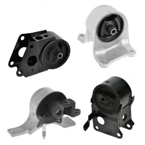 2004-06 Nissan Quest 3.5L Engine & Transmission Mount Kit (Set of 4)