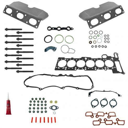 01-06 BMW Multifit Exhaust Manifold Gasket, Cylinder Head Gasket, & Head Bolt Kit